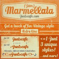 Marmellata (Jam)_demo font by FontsCafe
