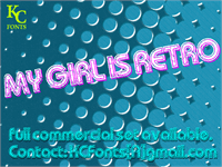 My Girl Is Retro font by KC Fonts