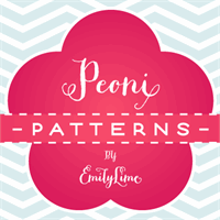 Peoni Patterns font by Emily Lime Design