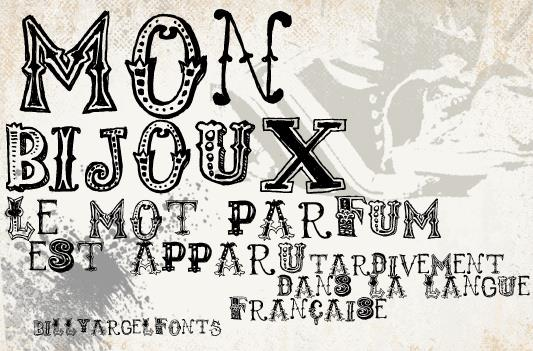 2.25 Font Friday - monbijoux 778d21abdc9b4390ad1c5fadc7d0525a