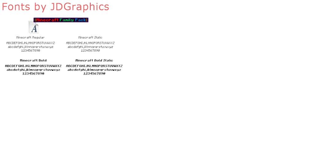 JDGraphics - 4 free fonts - FontSpace
