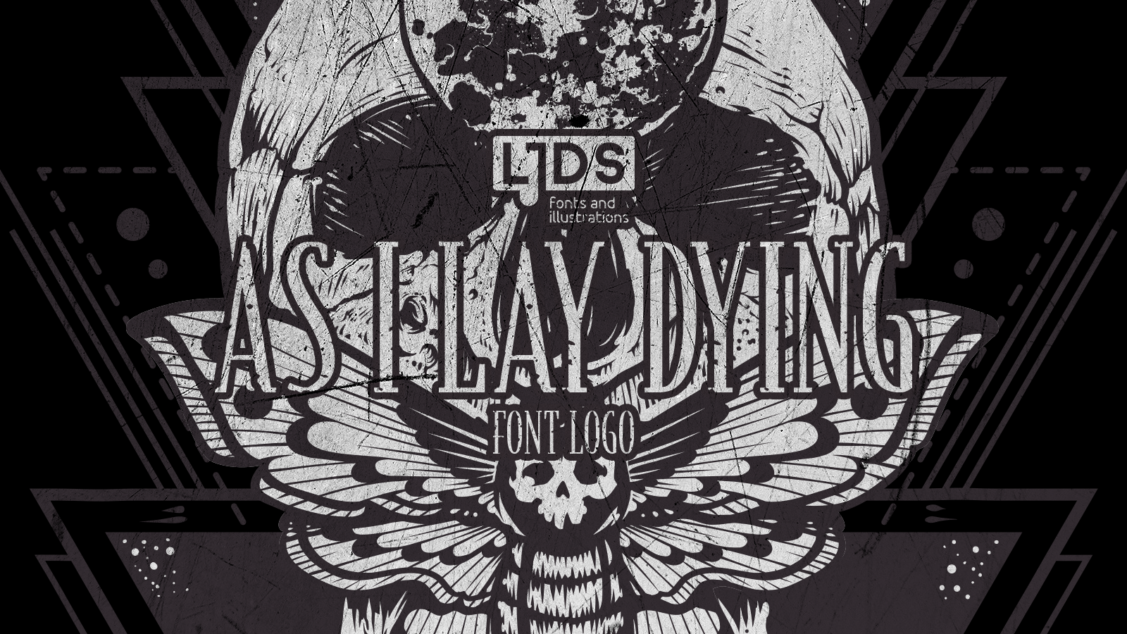 As I Lay Dying Logo Font Fontspace