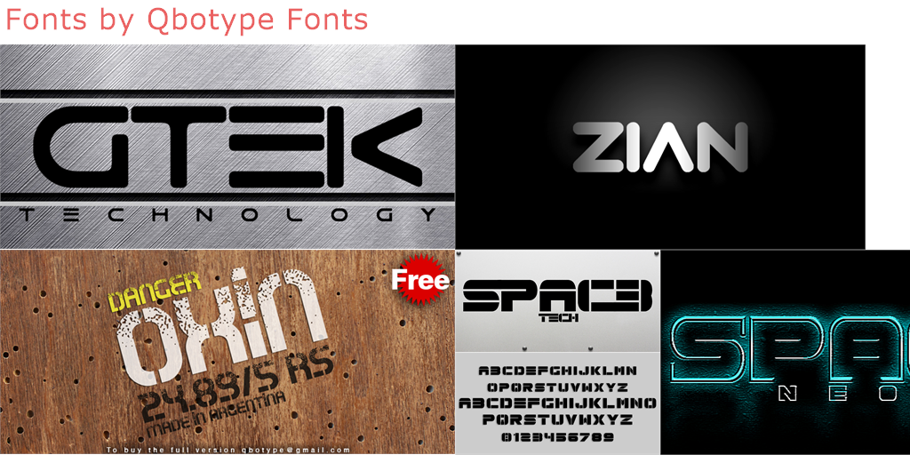 collage fonts free